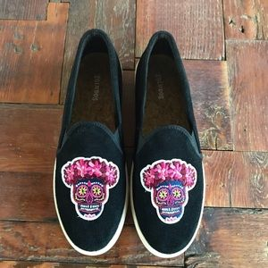 NWT Soludos - Day of the Dead Sneakers - 9.5